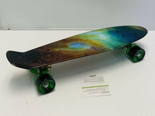 ENKEEO Skateboard Skateboard Complete Cruiser