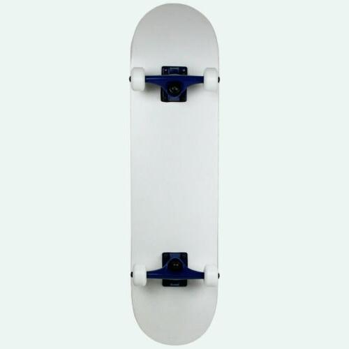 skateboard complete white 7 75 complete
