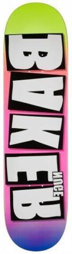 Baker Skateboard Deck 8.0 Nuge Brand Name Grade