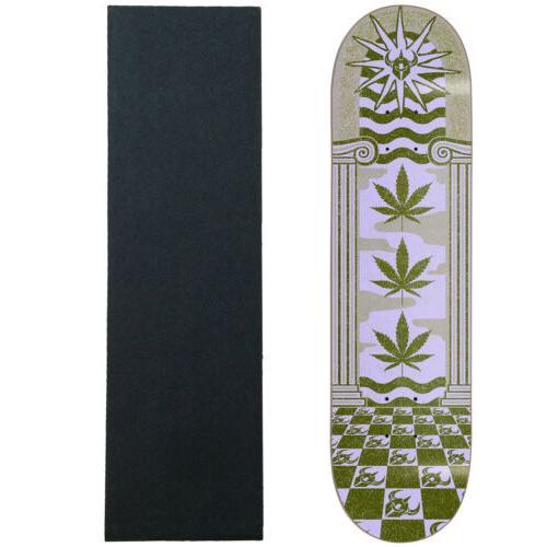 skateboard deck mirage army green 8 0