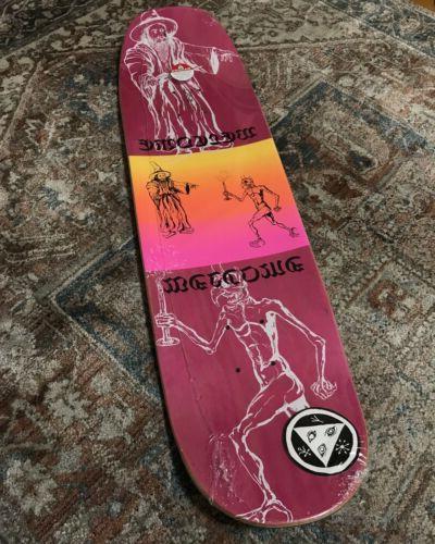 welcome skateboard deck