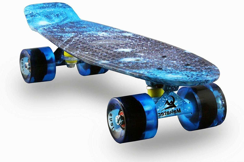 Skateboards Complete 22 Inch Mini Cruiser Retro Skateboard f