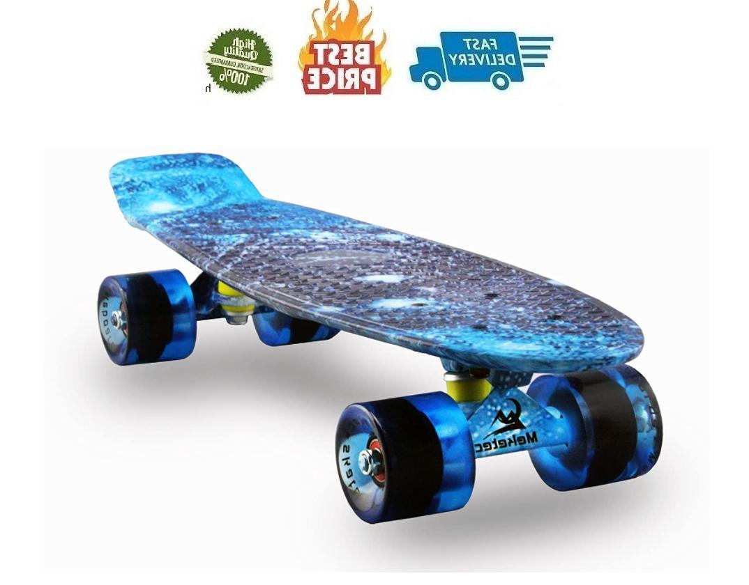 skateboards complete 22 inch mini cruiser retro
