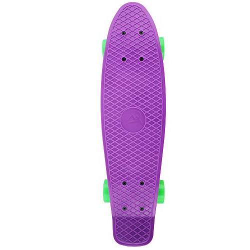 MEKETEC 22 Inch Skateboard for Youths