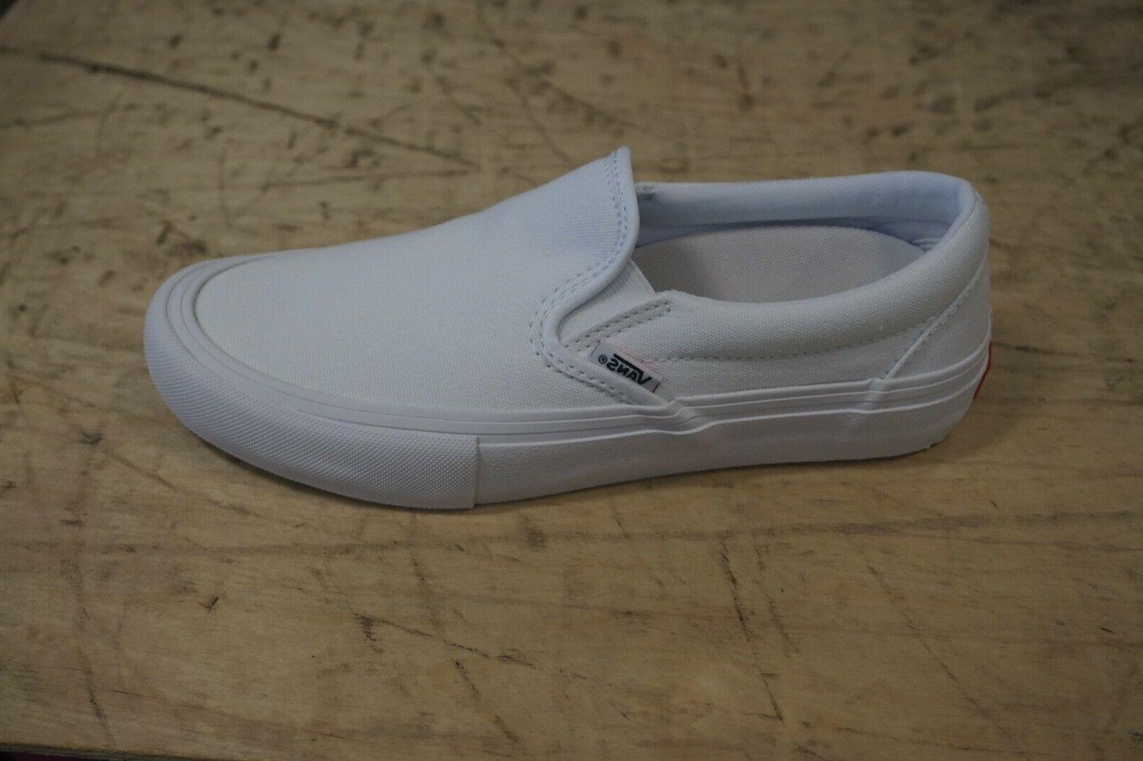 slip on pro new size 9 white