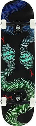 Powell-Peralta Snakes Black/Green / Blue Complete Skateboard
