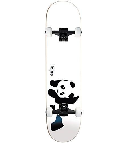 whitey panda complete skateboard
