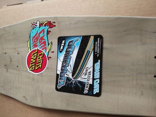 Santa Winkowski Skateboard Deck Rare