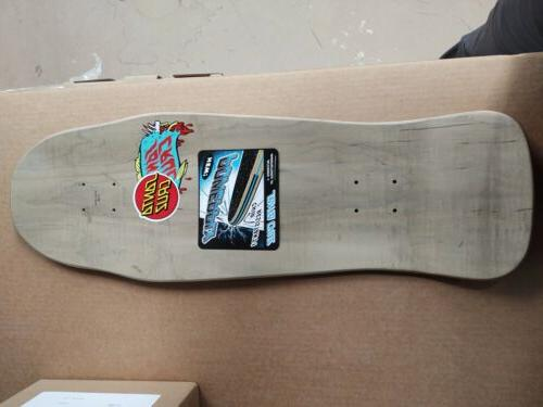 Santa Skateboard Deck Rare