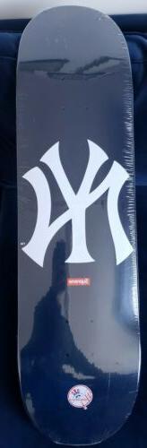 Supreme x New York Yankees Skateboard deck S/S15 NAVY-Brand