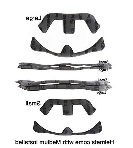 13 Vent Flake Dual Safety Bike & Helmet, Gold,
