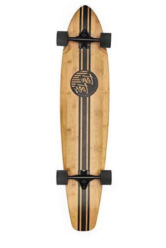zed bamboo longboard skateboard cruiser