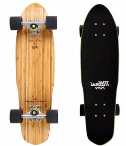 "LMAI 22''/27"" Bamboo Maple Wood Cruiser Skateboard Penny Nic"
