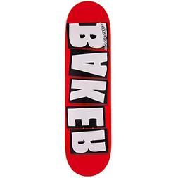 """Baker Brand Logo Skateboard Deck - White - 8.125"""""""