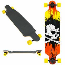 Best Choice Products 41in Outdoor Professional Longboard Cru