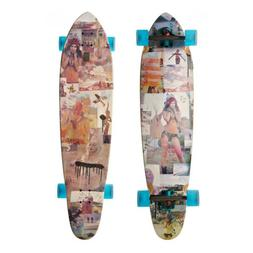 GLOBE Longboard Cruiser TERRA MARS Kicktail Skateboard 9.75
