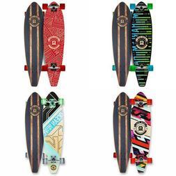 LONGBOARD Skateboard COMPLETE 9 in x 36 in Ages 5+, 62mm Whe