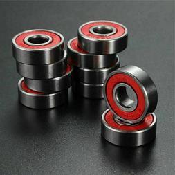 Lot 500 Skate Bearings 608rs 8mm 22mm 7mm 608-2RS skateboard