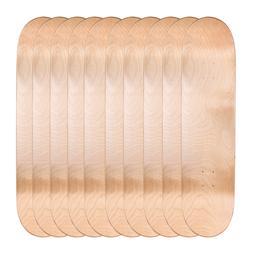 "Lot of 10 Cal 7 Blank Maple 8.0"" Skateboard Deck Multi-Color"