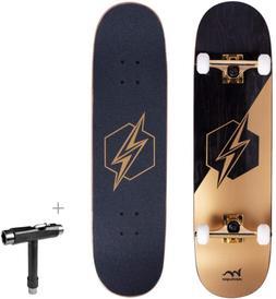"""M Merkapa 31"""" Pro Complete Skateboard 7 Layer Canadian Maple"""