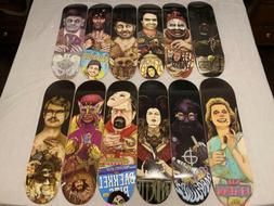 Creature Maniacs Skateboard Collection