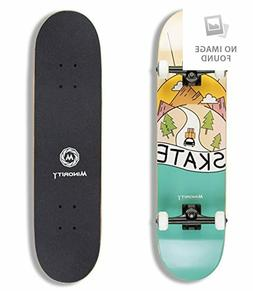 Maple 32inch Skateboard Complete Premium for Boys/Girls/Yout