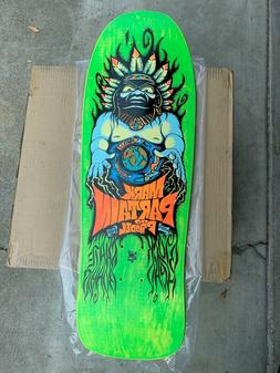 Blockhead Mark Partain #16/115 Skateboard Deck- Green