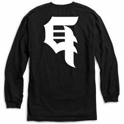 Primitive Men's Dirty P Long Sleeve T Shirt Black Clothing A