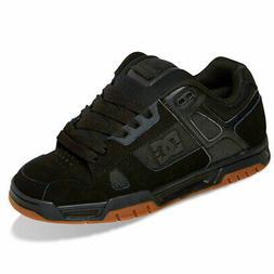 DC Shoes Men's Stag Low Top Sneaker Shoes Black/Gum  Footwea