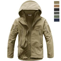Men's Waterproof Military Tactical Jacket Soft Shell Outdoor