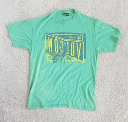 Mens Volcom Surf Skate Board Outdoor Extreme Sports Green Ye
