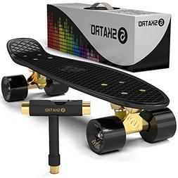 Mini Cruiser Skateboard Play Subway Skate Board Complete Gol