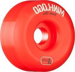Mini Logo A-Cut Red Skateboard Wheels - 54mm 101a