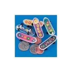 "Fun Express - MINI SKATEBOARDS - Plastic, 2"""