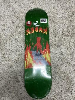 Baker Skateboards Neckface Deck Artist Halloween Kader Sylla