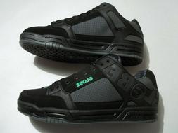 NEW Globe Australia Tilt Men's Size 10.5 Shoes  Black Leathe