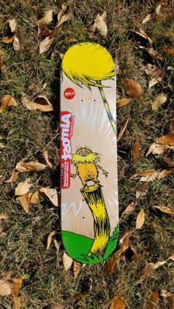 *NEW* COLLECTIBLE SKATEBOARD Almost Skateboards By Dr. Seuss