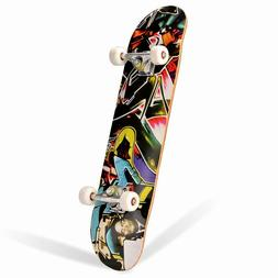 """NEW Style Fashion Skateboards Complete 8""""x31"""" Maple wood B98"""