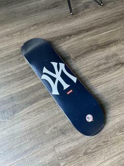 new york yankees skateboard deck navy brand
