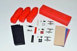Old School Fingerboard Complete Mold Kit, Graphic Veneer, Tr