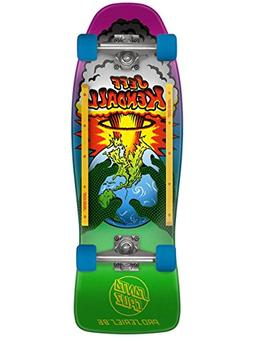 Santa Cruz Old School Skateboard Cruiser Kendall End of the