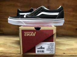 Vans Unisex Old Skool Black/True White Skate Shoe 11 Men US