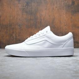 Vans Old Skool Triple White Low Canvas Classic Skate Shoes -