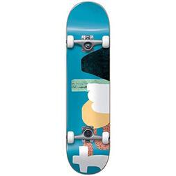 "Almost Organic FP Skateboard Complete,Blue,31.6"" L X 8.0"" W"