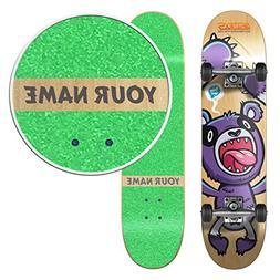 Personalized SkateXS Beginner Panda Street Kids Skateboard