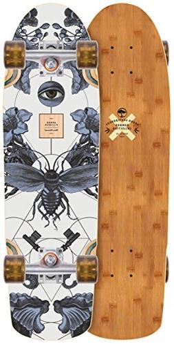 Arbor Pilsner Bamboo 2018 Complete Mini Longboard Skateboard