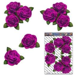 PINK ROSE FLOWER Corners Large Pack Decal Car Stickers - ST0