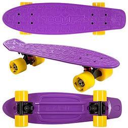 """Flybar 22"""" Plastic Cruiser Skateboard Complete"""