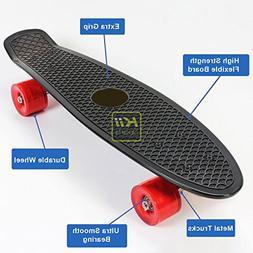 "Plastic Skateboard Penny Retro Style 22"" Mini Street Cruiser"