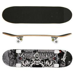 "Pro  31""x8"" Skateboards Complete Double Kick Deck Concave Gi"